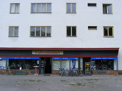 Berlin Siemensstadt  cycle shop