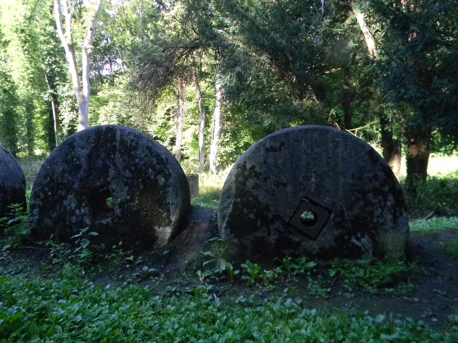 Millstones - Gunpowder works Guildford Circular via Albury.