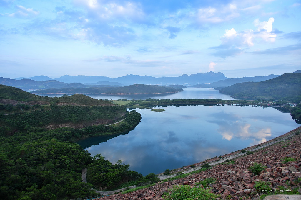 West Dam, High Island Reservoir, New Territories, Hong Kong
