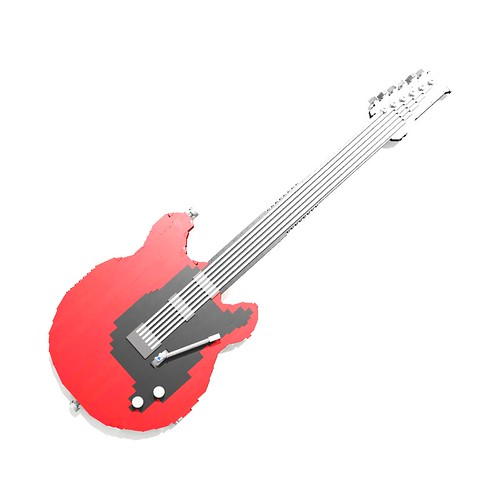 Electric Guitar 1:1 scale