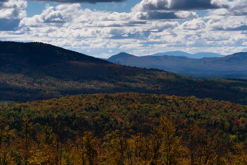autumn trees sky mountains fall colors clouds forest woods unitedstates maine foliage jackman em5 14140mm