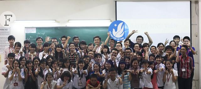 Đại gia đình Hội Sinh viên trong ngày ra mắt