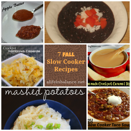 7 Fall Slow Cooker Recipes: Put these slow cooker recipes in the crockpot in the morning, and come home to a hot dinner ready to be served.