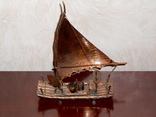 São Paulo - Jangada Fishing Boat Model