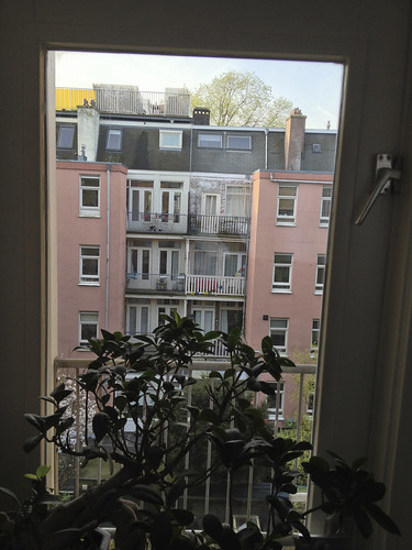 View from our window in Westerpark