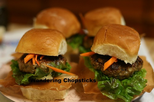 Nem Nuong (Vietnamese Grilled Pork Patty) Sliders 1