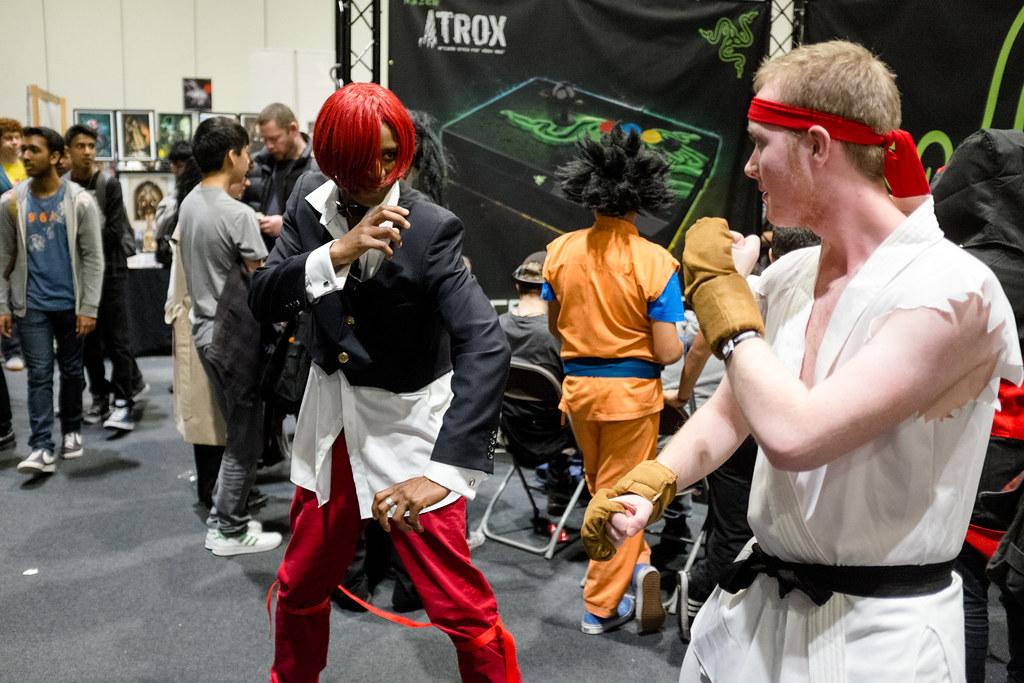 Iori Yagami and Ryu