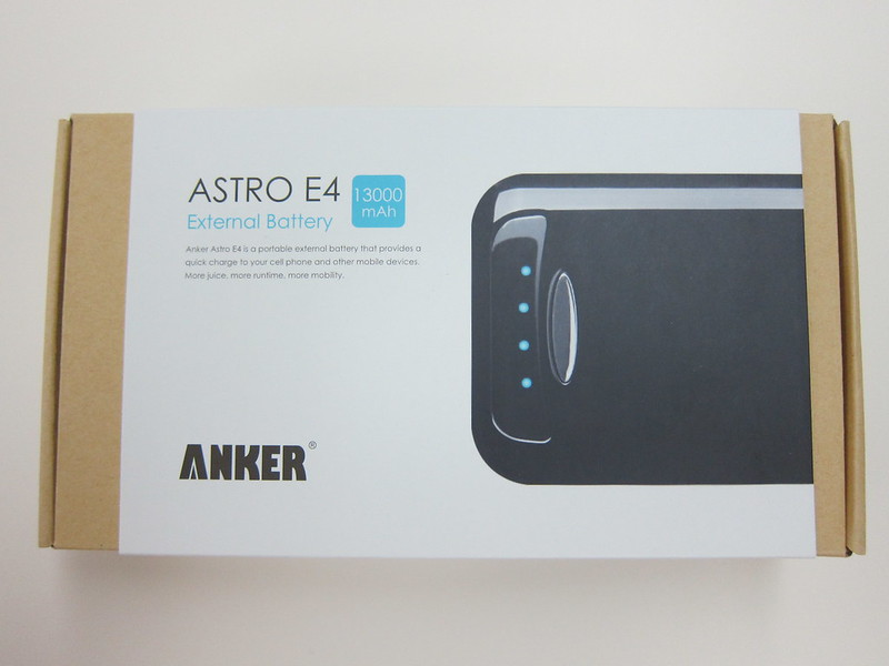 Anker Astro E4 - Box Front