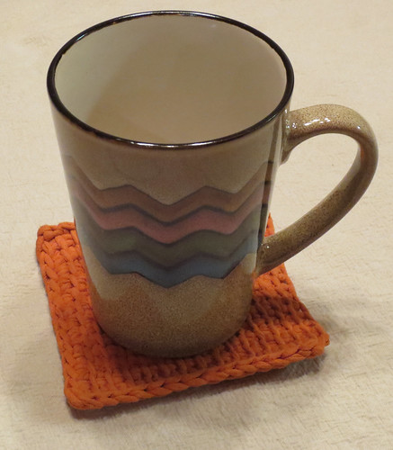 T-Yarn Coffee Cup Mat