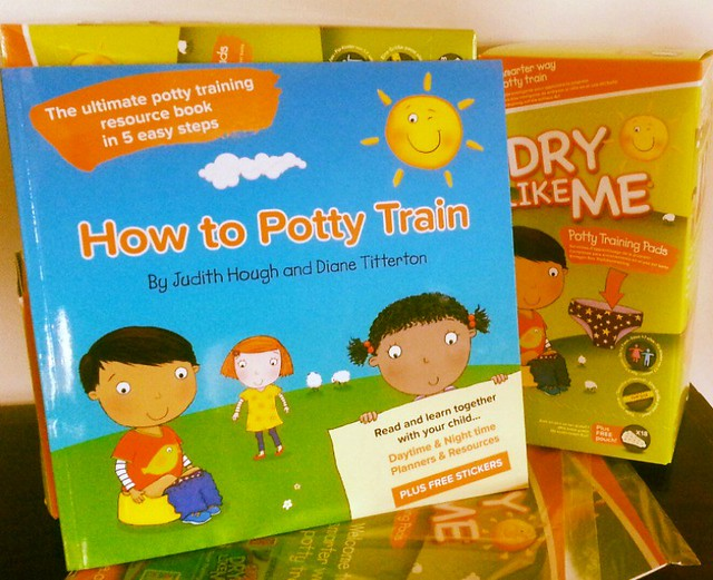 How to Potty Train: Book review and potty training kit giveaway