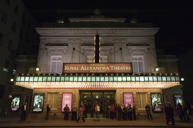 Royal Alexandra Theatre by CC user cityoftoronto on Flickr