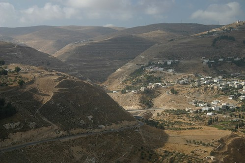 View from Kerak castle, Jordan