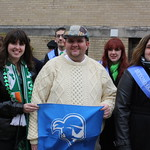 10837647923 Seton Hall in the 2013 New York City St. Patrick's Day Parade
