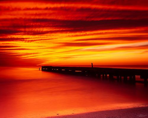 sunset film landscapes florida fineart velvia 4x5 largeformat 2013 ebonysv45ti sarasotabradenton jaspcphotography josesuro