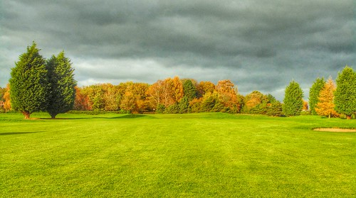 17th fairway