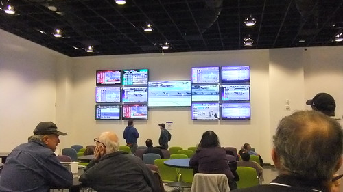 First Floor Simulcast Area TV's