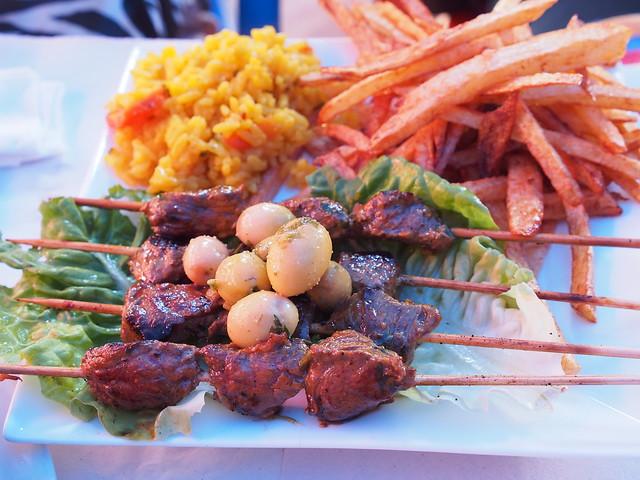 今日午餐-烤肉串