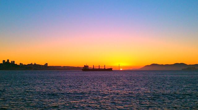 View of Golden Gate Bridge