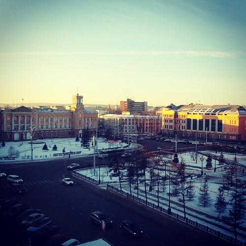 Здравствуй, #Иркутск!