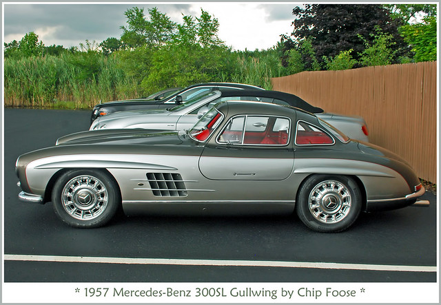 1957 chip foose mercedes benz gullwing all of my classic c flickr photo sharing. Black Bedroom Furniture Sets. Home Design Ideas