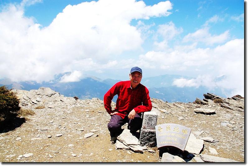 奇萊主山北峰頂 1