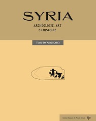 Syria, tome 90, 2013