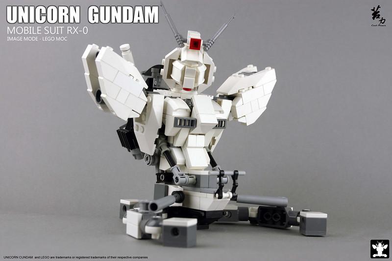 LEGO UNICORN GUNDAM 0008