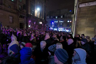 05.12.2013 Glasgow Rally in celbration of the life of Nelson Mandela