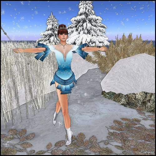 Ice Skates Dress For AvaGirl by ♥Caprycia♥