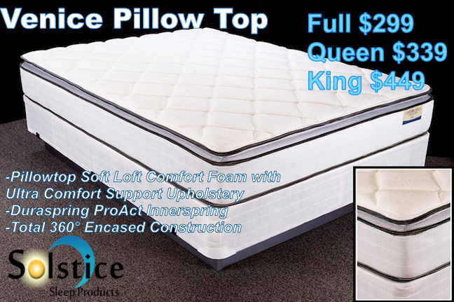 Venice Pillow Top