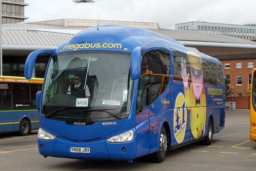 Freestones Megabus YN08JBX
