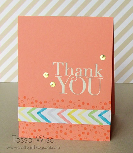 Cantaloupe Thank You Card 1