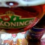 ベルギービール大好き! デ コーニンク ウィンター De koninck winter