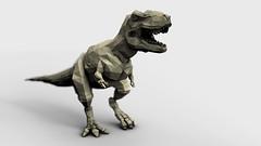 art, tyrannosaurus, sculpture, statue,