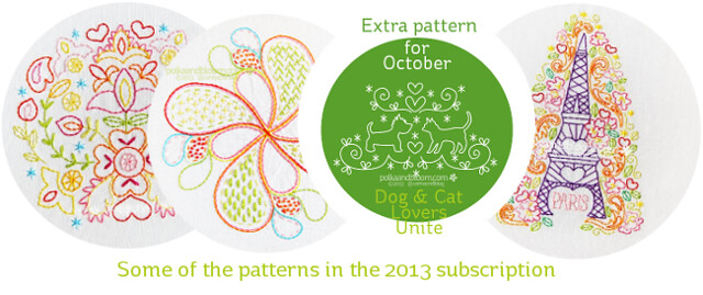 2013 pattern subscription samples