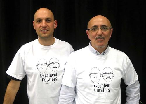 Javier Leiva y Javier Guallar, los content curators