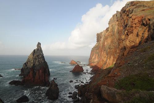 'Seahorse rocks' at Ponta de São Lourenço