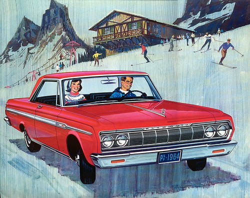 1964 Plymouth Fury red 2-door hardtop by Rickster G