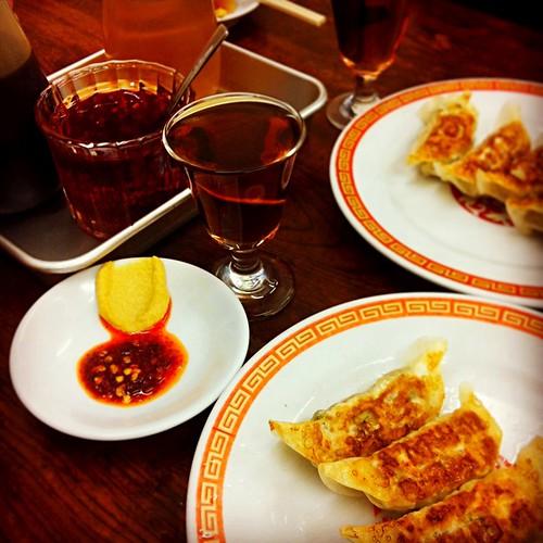 亀戸餃子…老酒