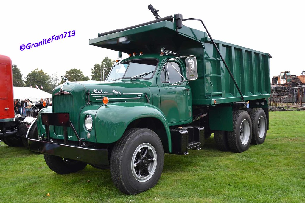 mack b 61 dump truck a photo on flickriver Old F Model Mack Trucks mack b 61 dump truck