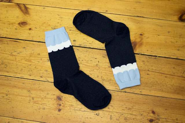 scallop detail ankle socks