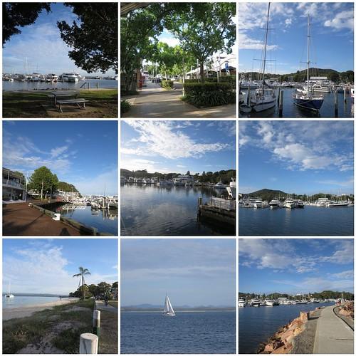 Morning walk at Nelson Bay