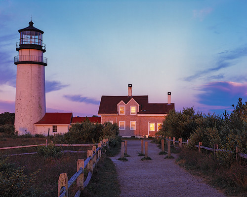 Sunrise at Cape Cod Light