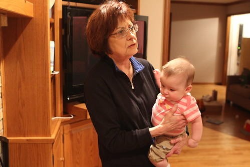 Grandma and Evelyn