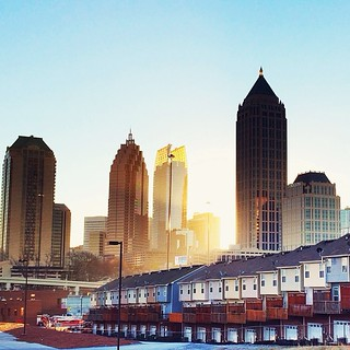 Sunrise Atlanta #atl #atlanta #skyscraper #atlanticstation