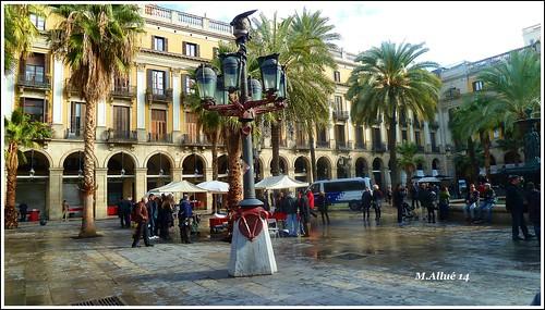 Plaça Reial by Miguel Allué Aguilar