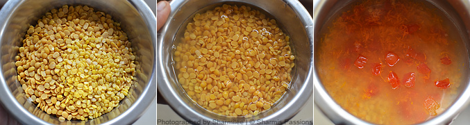 How to make carrot dal tadka - Step2