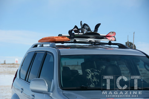 Roof Rack Outside