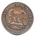 Satirical Coin of Napoleon III reverse
