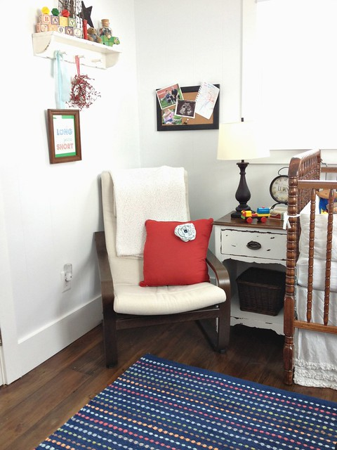 Baby Boy Nursery Tour: Our Farmhouse Nursery: Baby Boy Style